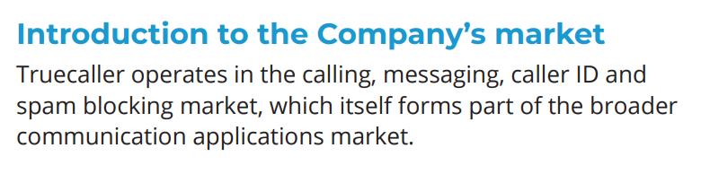 Business Model of Truecaller